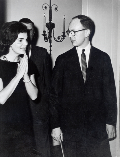 Jackie Kennedy And John Sweeney At Winterthur