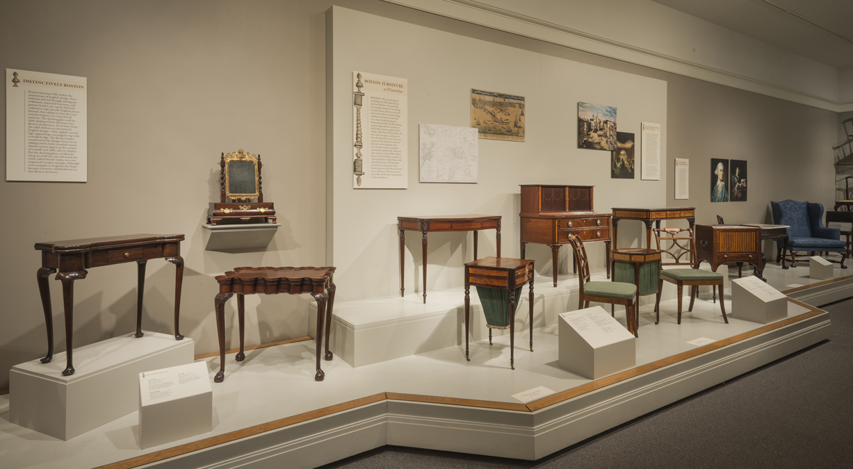 Boston furniture at winterthur winterthur museum for Interiors furniture galleries