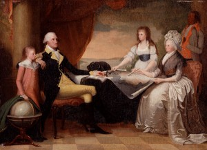 The Washington Family, Edward Savage, United States; 1798–1805, Oil on panel. Bequest of Henry Francis du Pont 1961.708