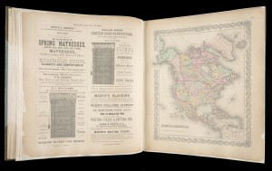 Colton's Atlas of America, George Woolworth Colton, New York, New York: J. H. Colton, 1856. Printed Book and Periodical Collection G1100 C72PF