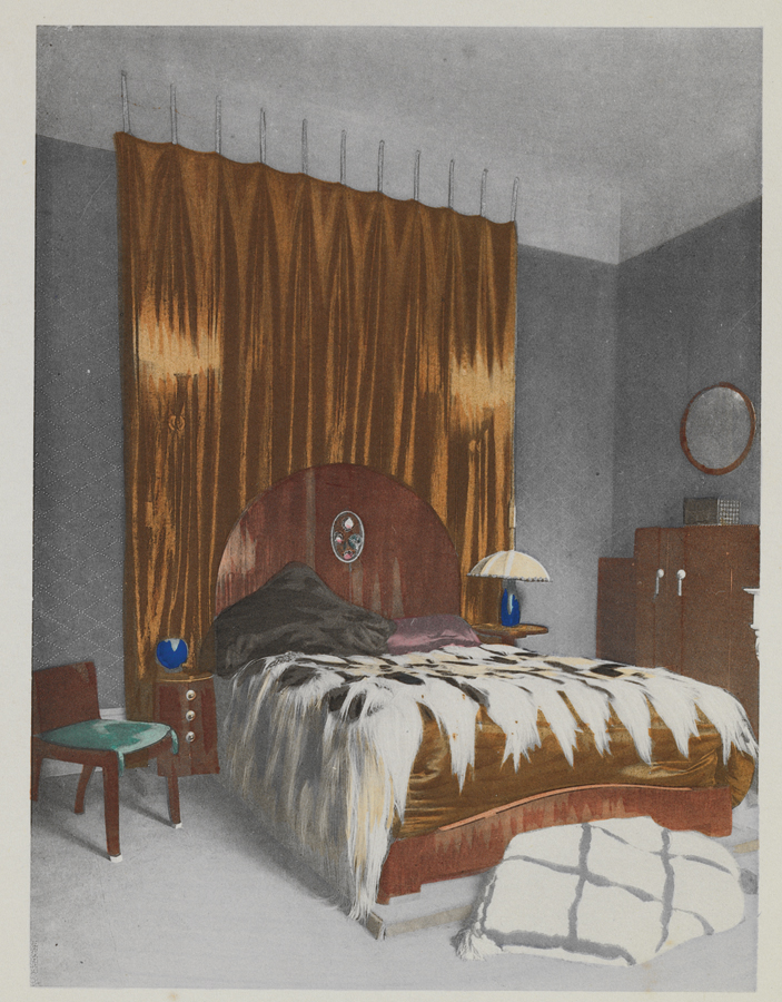 Bedroom of Fernande Cabanel, design by É.-J. Ruhlmann (French 1879–1933). Photo courtesy Jared Goss.