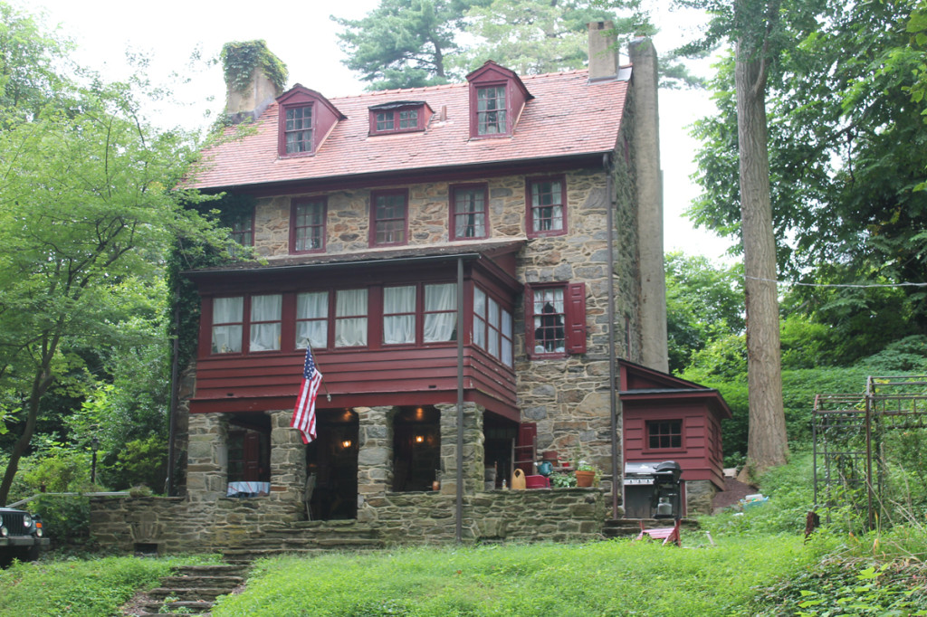 The Bishop White House, Rose Valley, Pennsylvania; altered by William Lightfoot Price