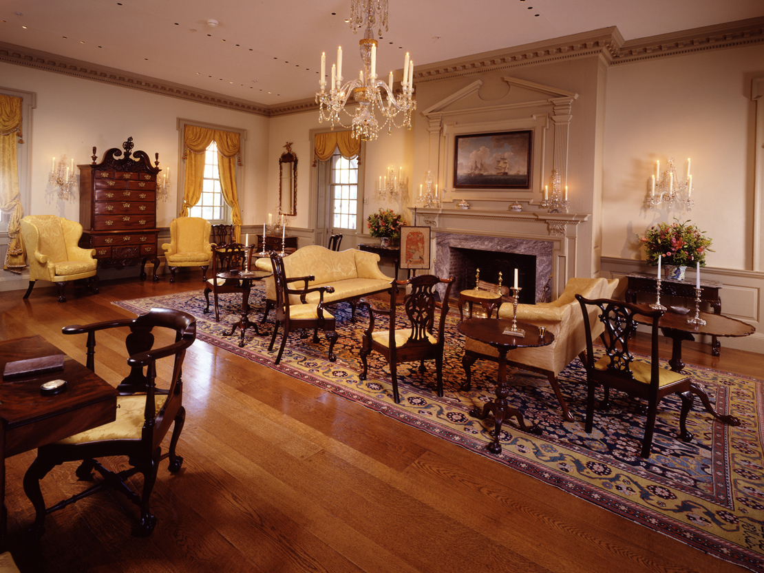 Port Royal Parlor. Photo: Gavin Ashworth