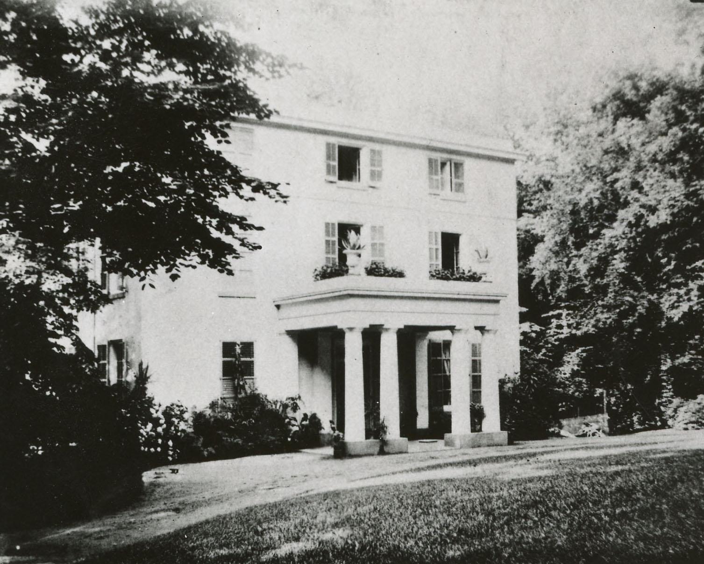 Winterthur, 1839. Courtesy, Hagley Museum