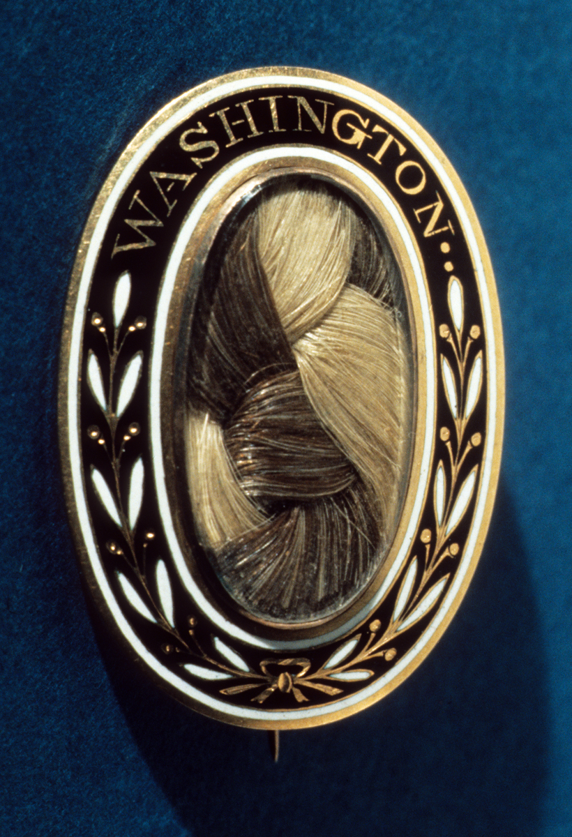 Mourning brooch, United States, 1797–1810. Gift of Mrs. Paul Hammond, 1962.0084 A