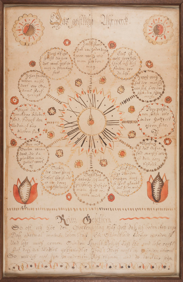 Fraktur, 1790–1810. Museum purchase with funds provided by the Henry Francis du Pont Collectors Circle, 2013.31.77 A