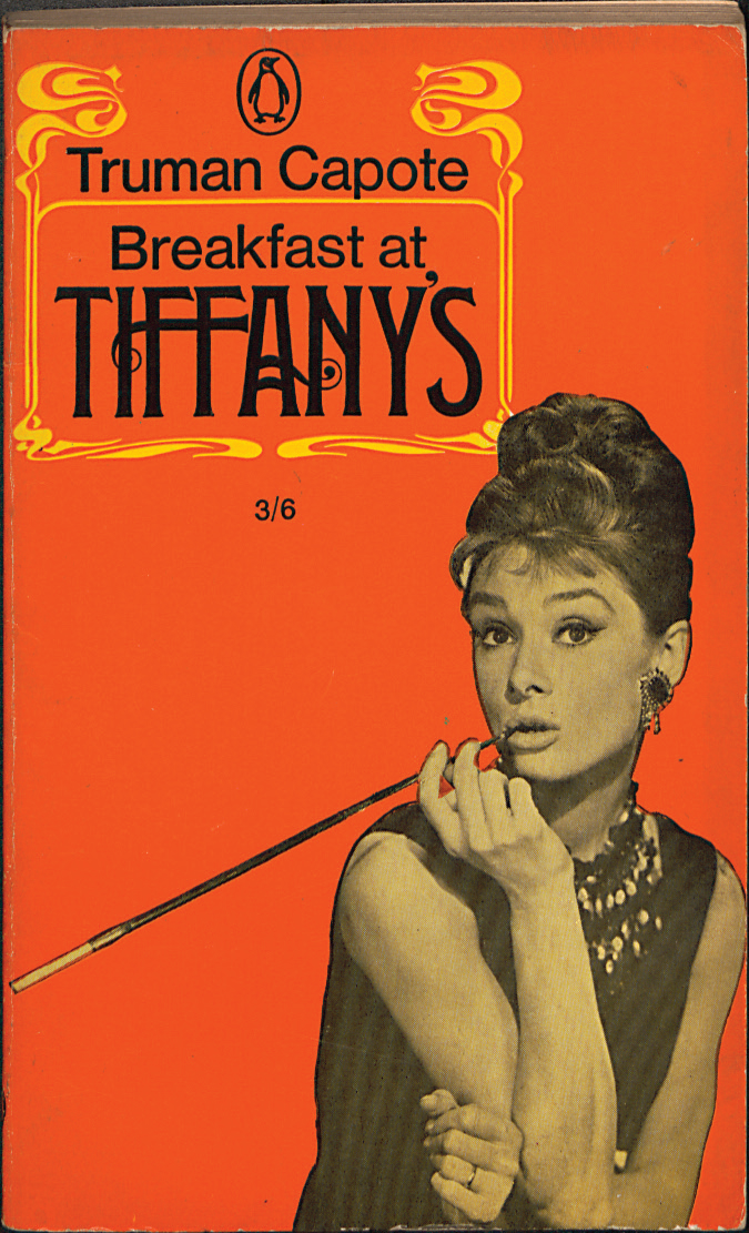 Cover of Breakfast at Tiffany's, by Truman Capote.