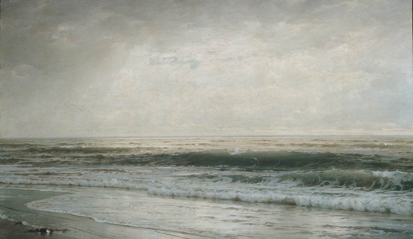 William Trost Richards, New Jersey Beach, 1901, oil on canvas, 28 x 48 1/4 in., Metropolitan Museum of Art