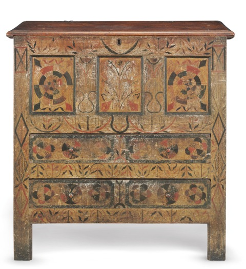 Hadley Chest, sold at Christie's Auction House for over $1 million