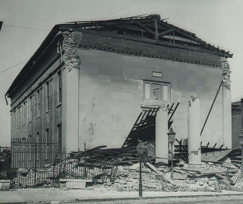 Hibernian Hall, Charleston, S.C. col. 760, Downs Collection, Winterthur Library