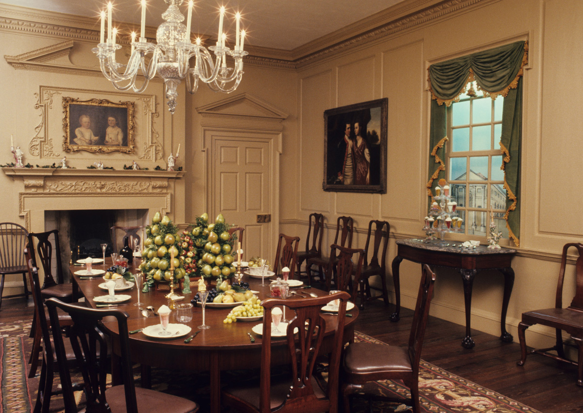 The Long Journey Of The Charleston Dining Room Winterthur Museum Library Blog